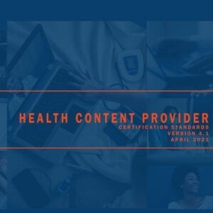 Health Content Certification Standards Download
