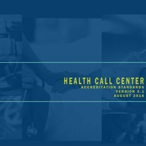 Health Call Center Accreditation Standards Download