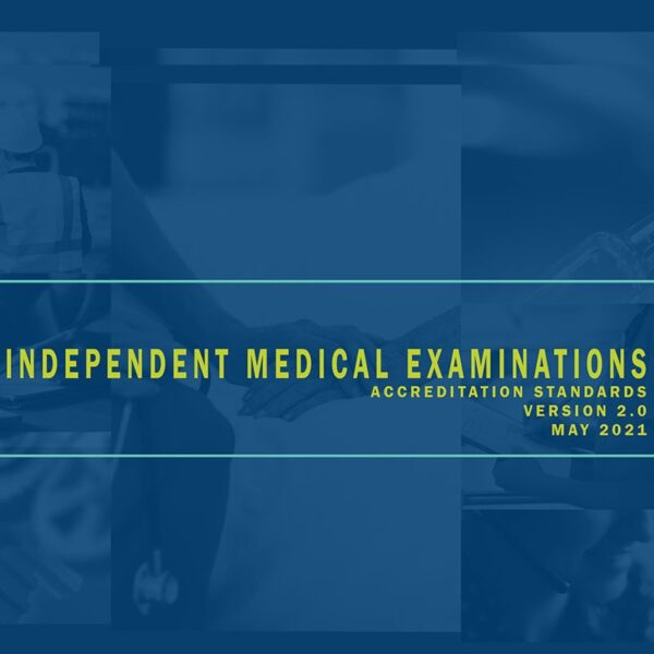 Independent Medical Examination Accreditation Standards Download