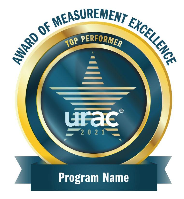 Urac Award of Measurement Excellence