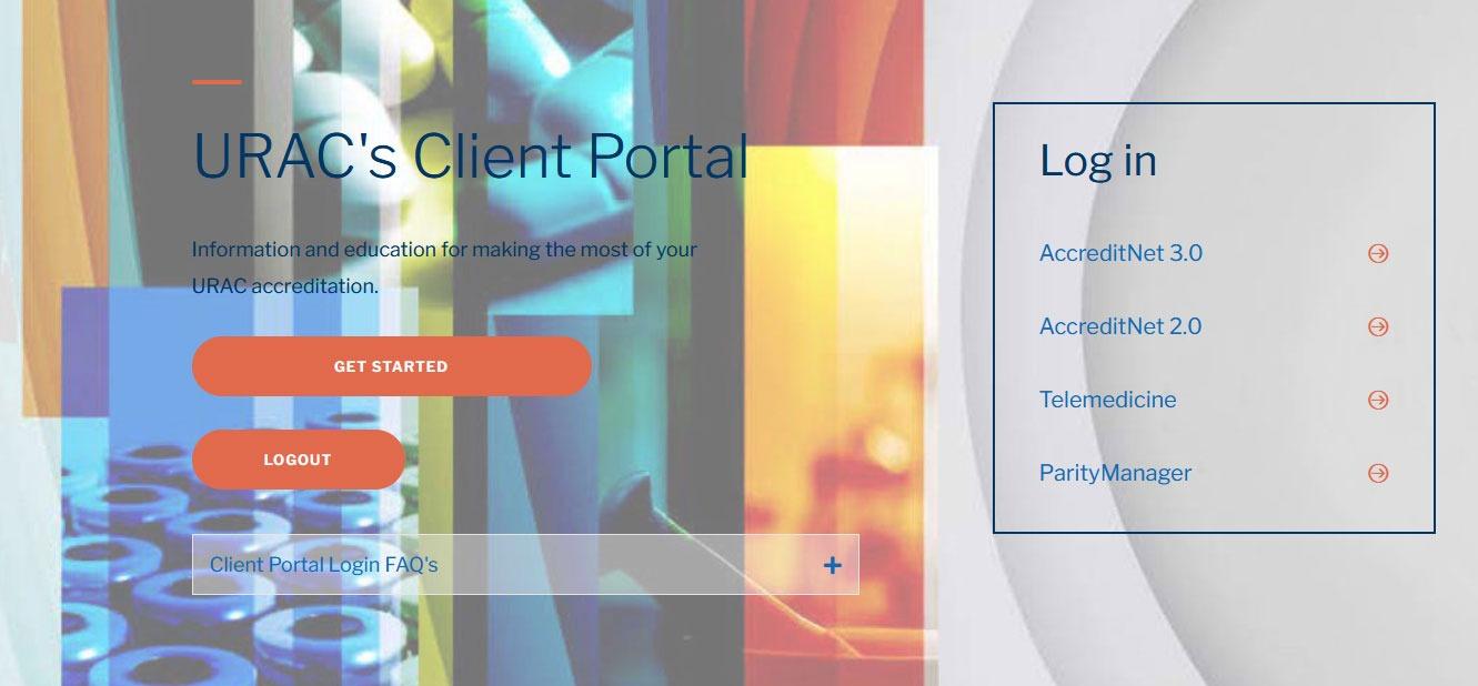 URAC Client Portal